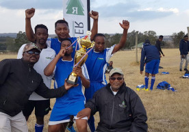 Stutt Football Team makes Motsepe League debut